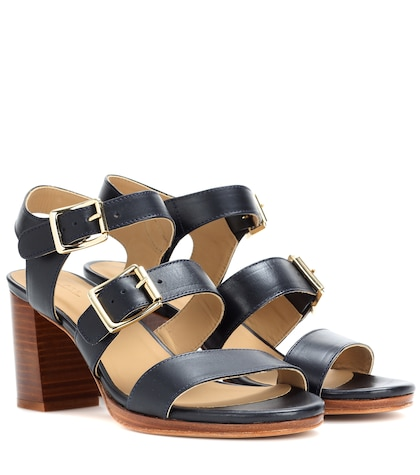 apc female betsy leather sandals