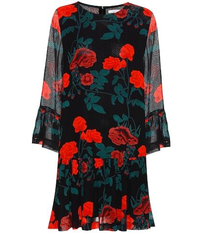Newman printed georgette dress