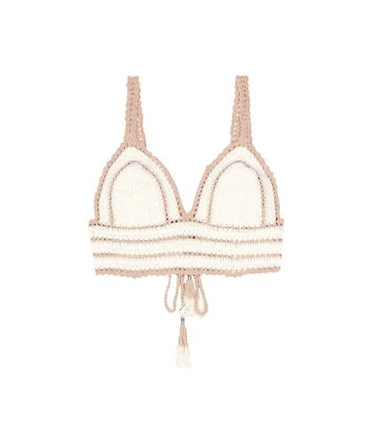 Sana crocheted bikini top