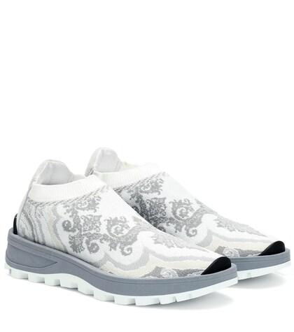 Jacquard sock sneakers