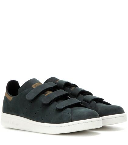 adidas originals female 188971 stan smith comfort suede sneakers
