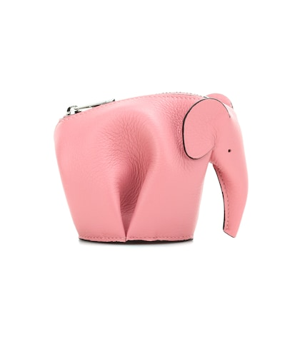Elephant Leather Coin Purse