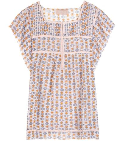 81hours female  bella tunisian printed top