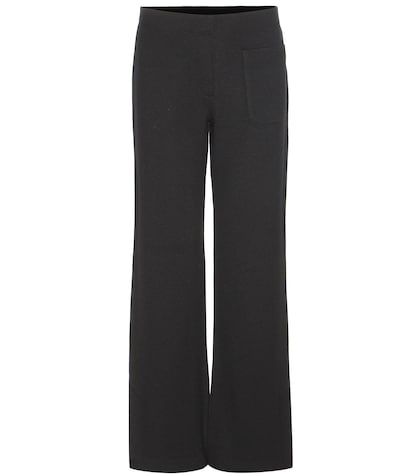 Knitted Wool Trousers