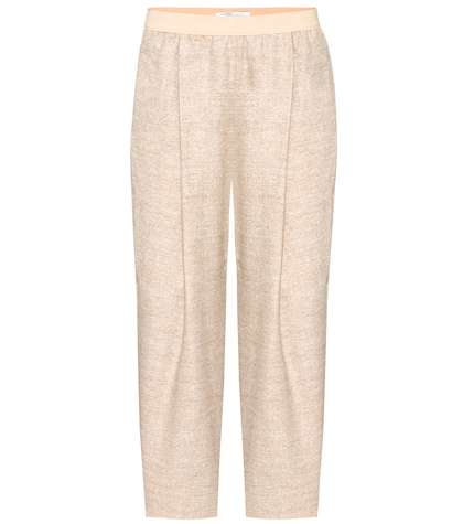 agnona female alpacablend cropped trousers