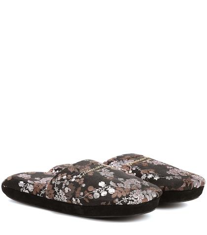 Exlusive to mytheresa.com – jacquard slippers