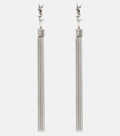 LouLou chain tassel earrings