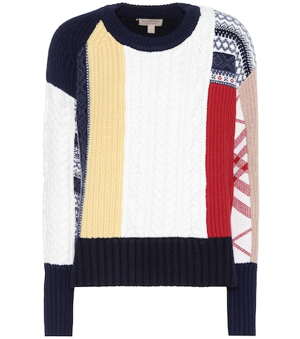 Castellano wool and cashmere sweater
