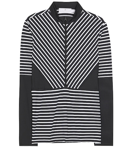 adidas by stella mccartney female 188971 studio stripe top