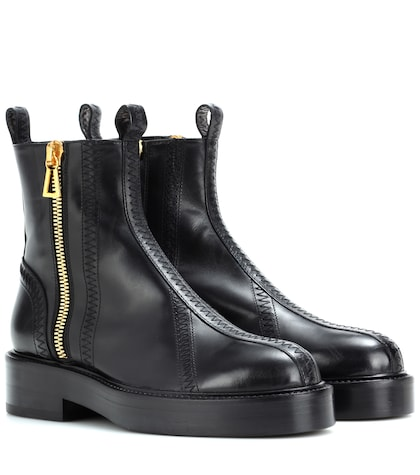 Venus leather ankle boots