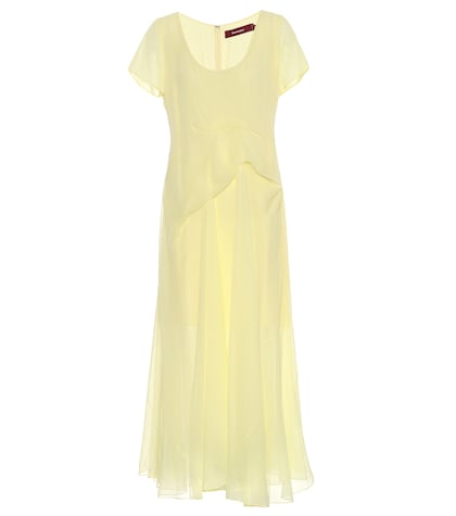 Gracen silk chiffon dress