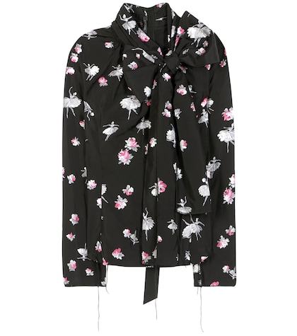 marc jacobs female printed blouse