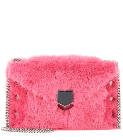 Lockett Envelope Mini fur shoulder bag