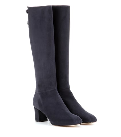 Liza suede knee-high boots