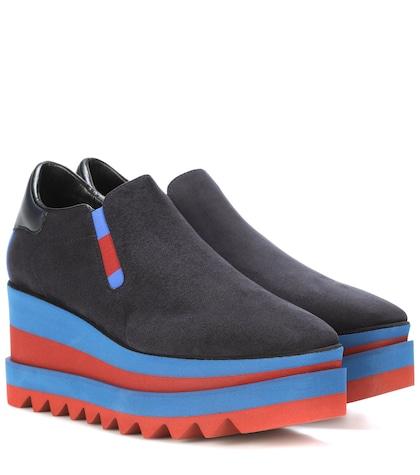 Platform slip-on sneakers