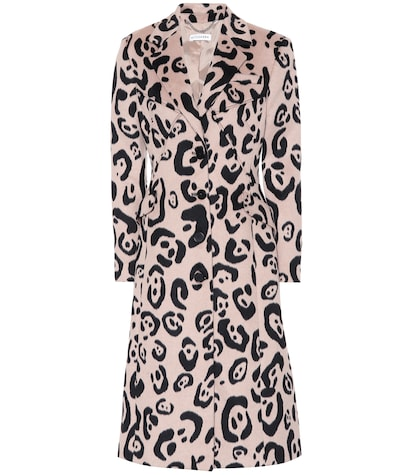 Driss leopard-printed coat