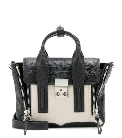31 phillip lim female pashli mini leather shoulder bag