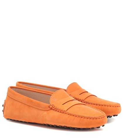 Gommini Suede Loafers