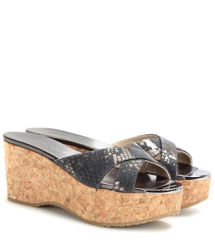 Prima Cork Wedge Sandals