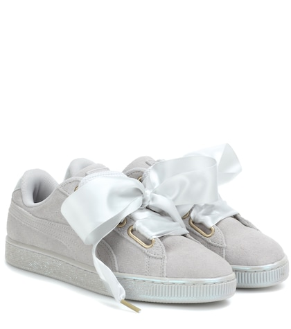 Heart Suede Sneakers