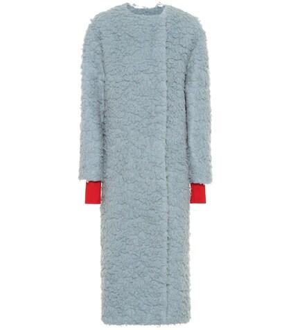 Edine camel wool and silk coat
