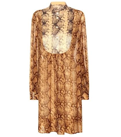 michael kors female 211468 printed silk dress