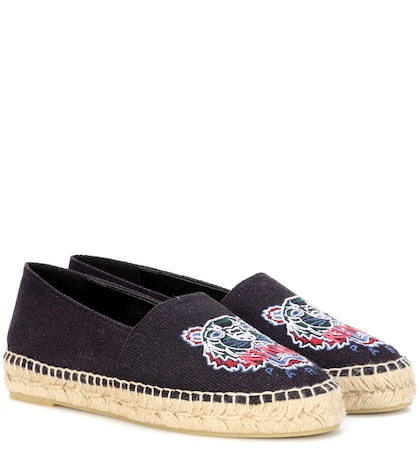 Embroidered espadrilles
