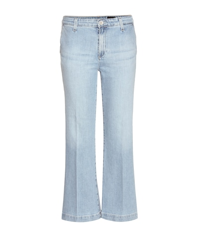 ag jeans female layla cropped flared jeans