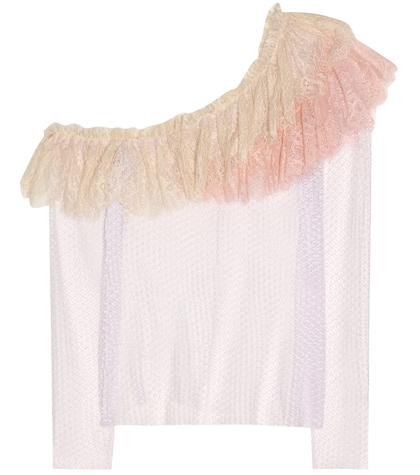 philosophy di lorenzo serafini female lace top