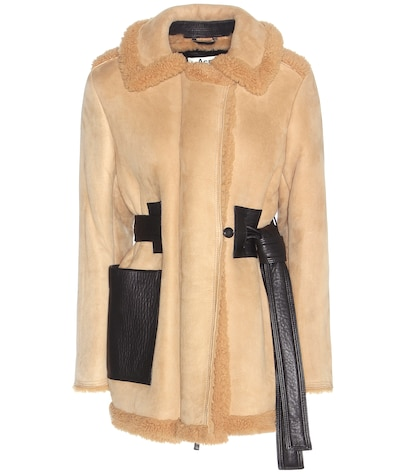 Fayette Shearling-lined Suede Jacket