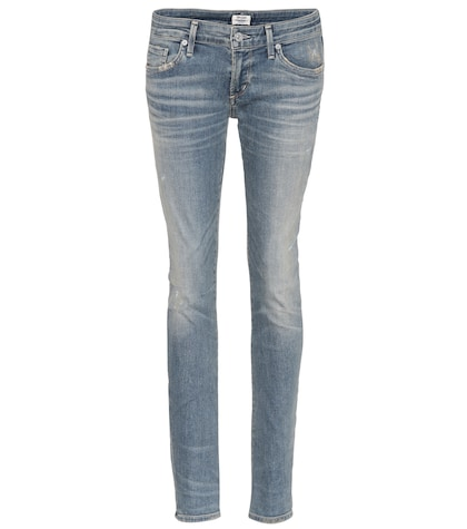 citizens of humanity female racer skinny jeans