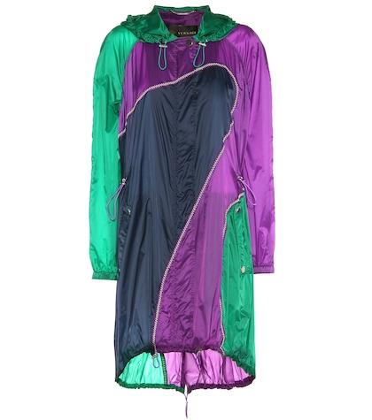 Embellished Raincoat