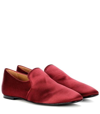 Alys satin slippers