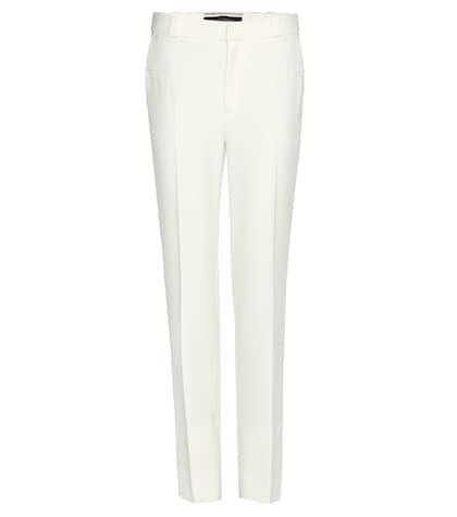 Pantalon en crêpe stretch Lacerta