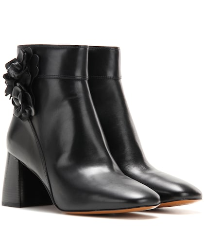 Blossom 70 Leather Ankle Boots