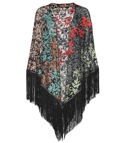 Embellished cape