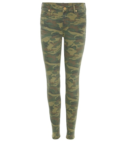 Halle camouflage skinny jeans