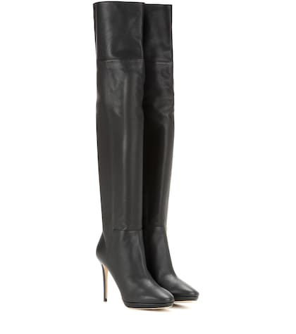 Hayley 100 Over-the-knee Leather Boots