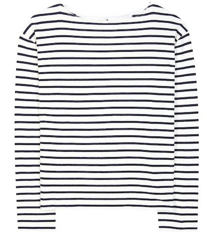 Adrien Striped Cotton Sweater
