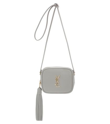 saint laurent female monogram blogger leather shoulder bag