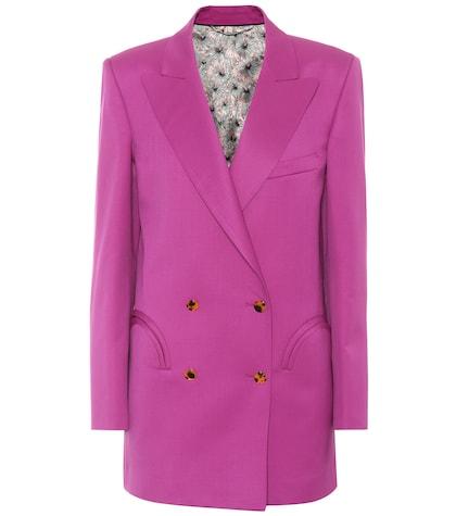 Exclusive to mytheresa.com – Shamrock wool blazer