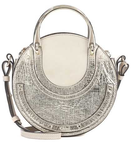 Small Pixie leather shoulder bag