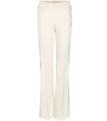 Betsy Embroidered Flared Jeans