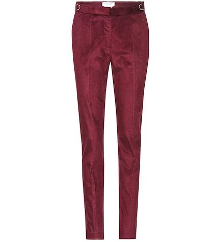 Lisa slim corduroy trousers