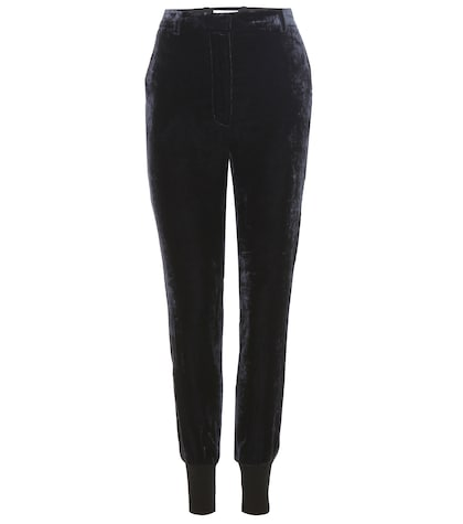 31 phillip lim female velvet trousers