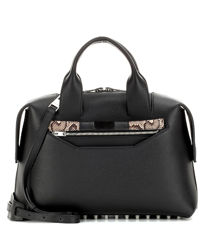 alexander wang female rogue large leather satchel