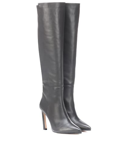 STUART WEITZMAN   Demi 100 leather boots   Goxip