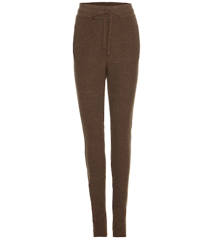 haider ackermann female wool and cashmere trousers