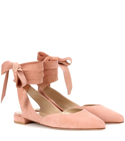 Supersonic Suede Ballerinas