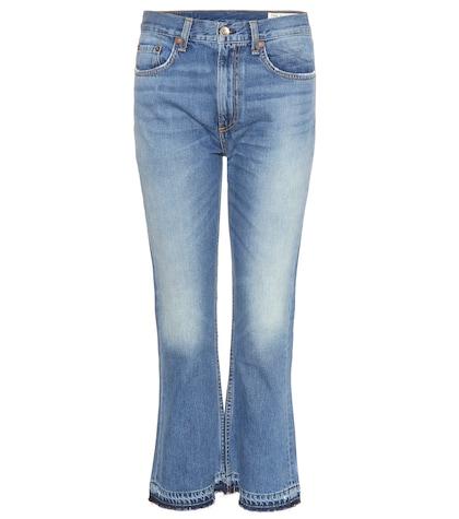 Vintage Crop Flare Jeans